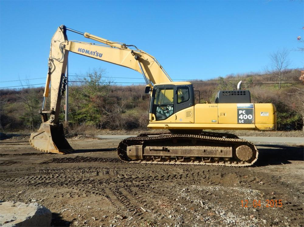Detail photo of 2006 Komatsu PC400LC-7 from Construction Equipment Guide