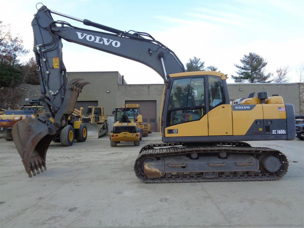 Detail photo of 2014 Volvo EC160 from Construction Equipment Guide