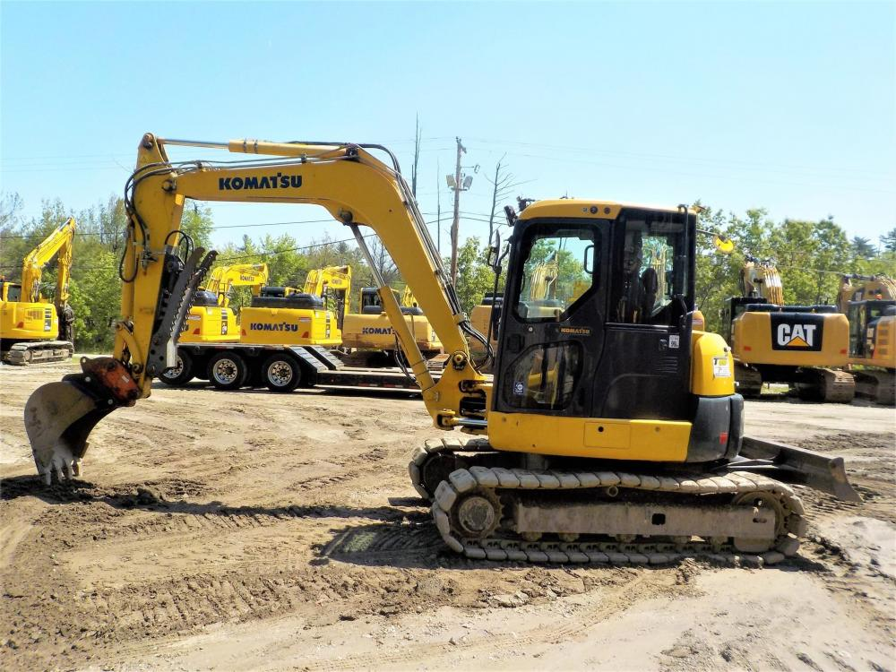 Detail photo of 2016 Komatsu PC80MR from Construction Equipment Guide