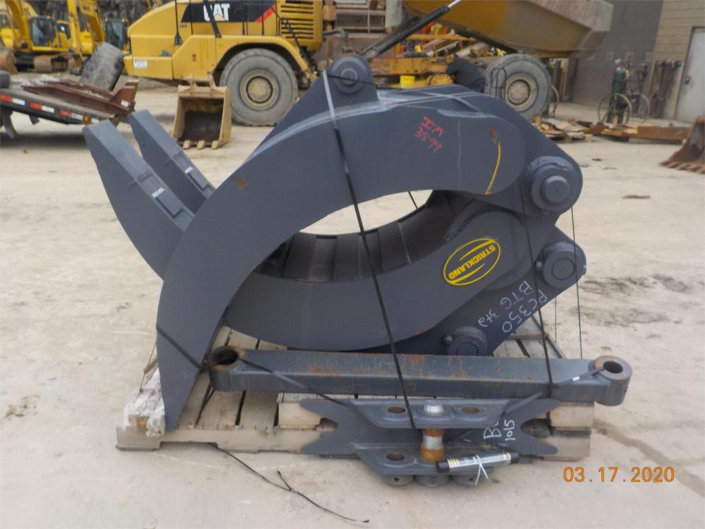 Detail photo of  Strickland 2X3 BOX TINE GRAPPLE **NEW** from Construction Equipment Guide