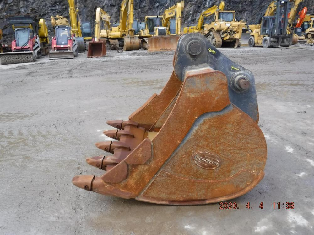 Detail photo of  Strickland 66 IN. DIGGING BUCKET from Construction Equipment Guide