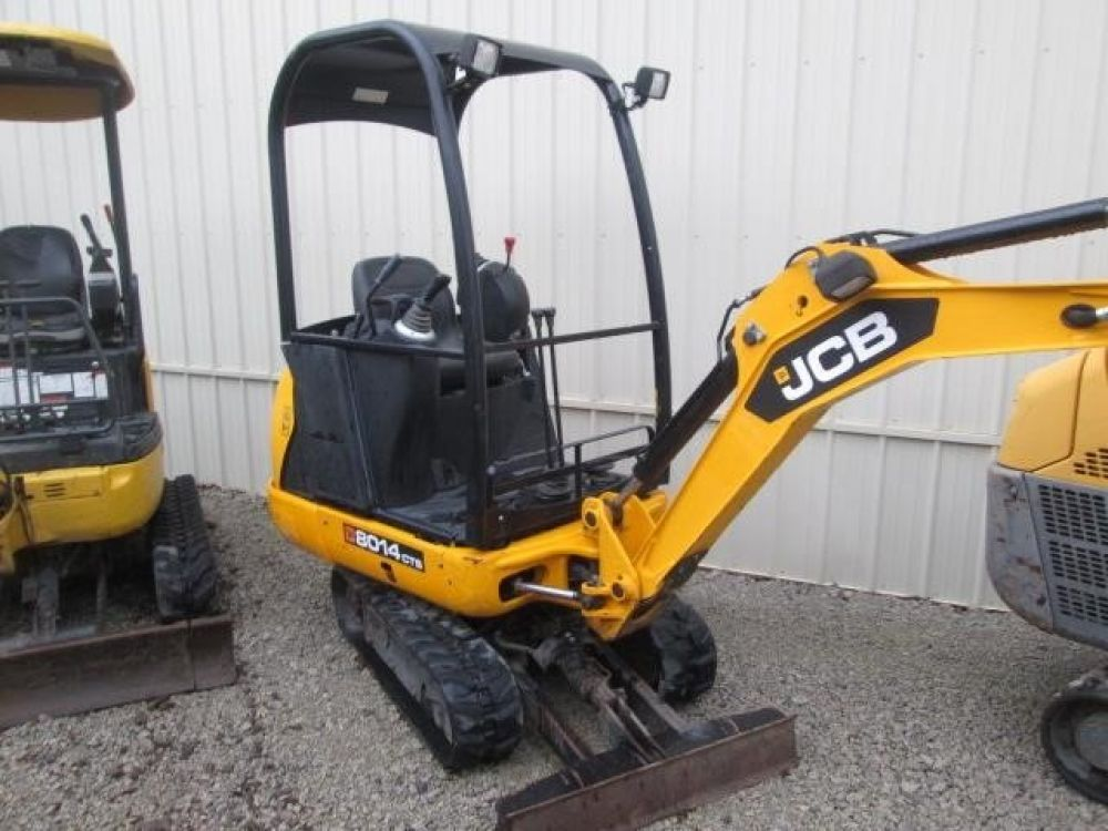 Detail photo of 2013 JCB 8014 from Construction Equipment Guide