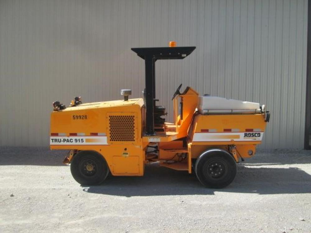 Detail photo of 2010 Rosco TRU-PAC 915 from Construction Equipment Guide