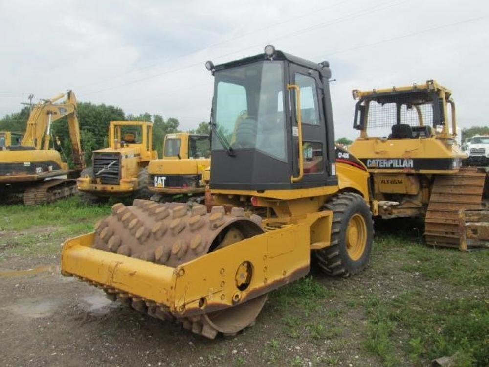 Detail photo of 2008 Caterpillar CP433E from Construction Equipment Guide