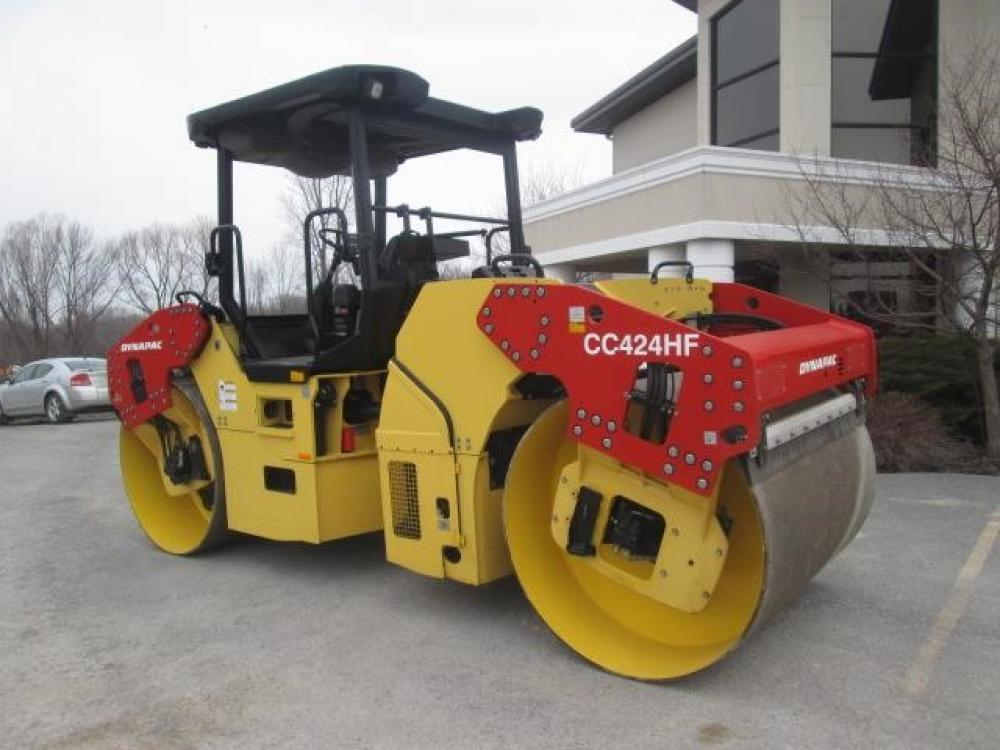 Detail photo of 2008 Dynapac CC424HF from Construction Equipment Guide
