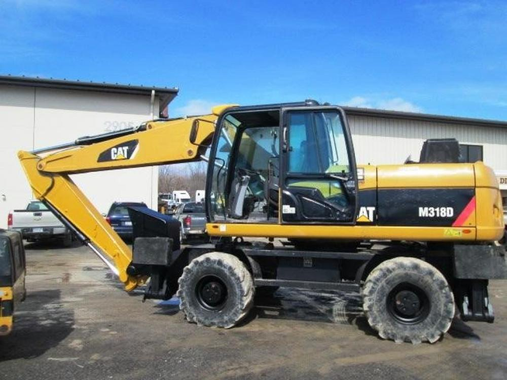 Detail photo of 2007 Caterpillar M318D from Construction Equipment Guide