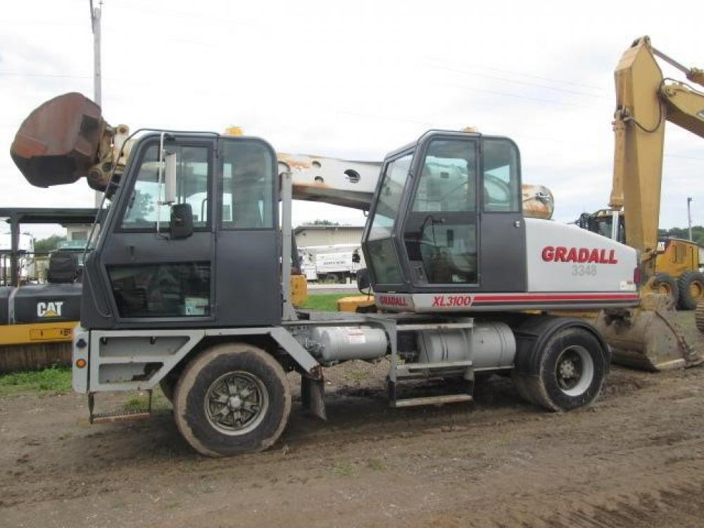 Detail photo of 2000 Gradall XL 3100 from Construction Equipment Guide