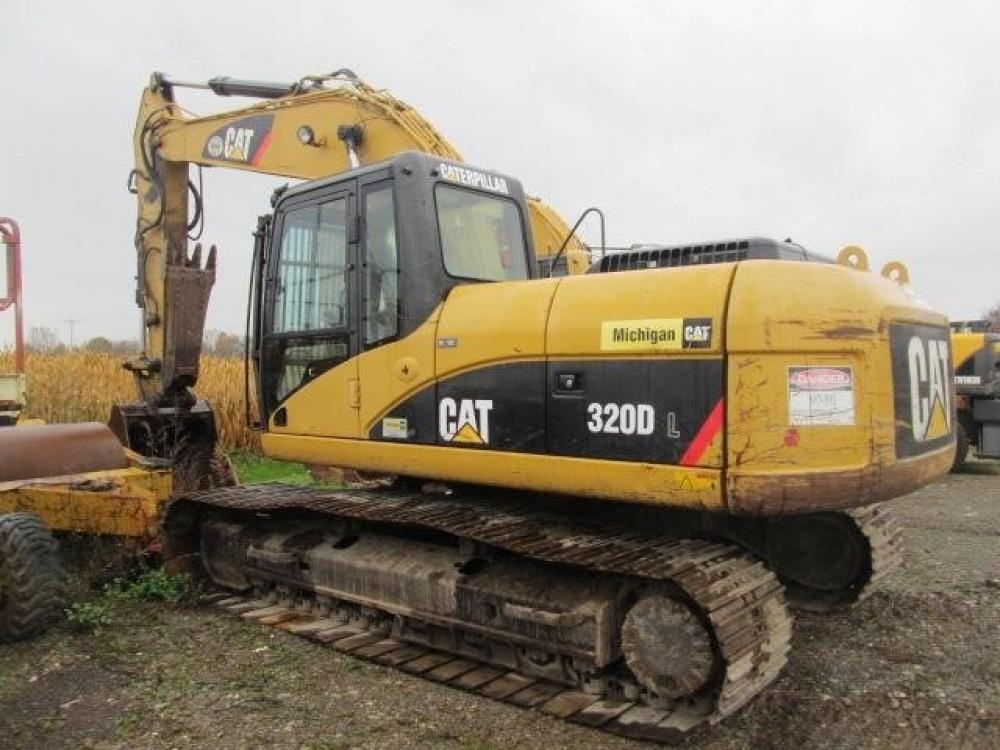 Detail photo of 2007 Caterpillar 320DL from Construction Equipment Guide