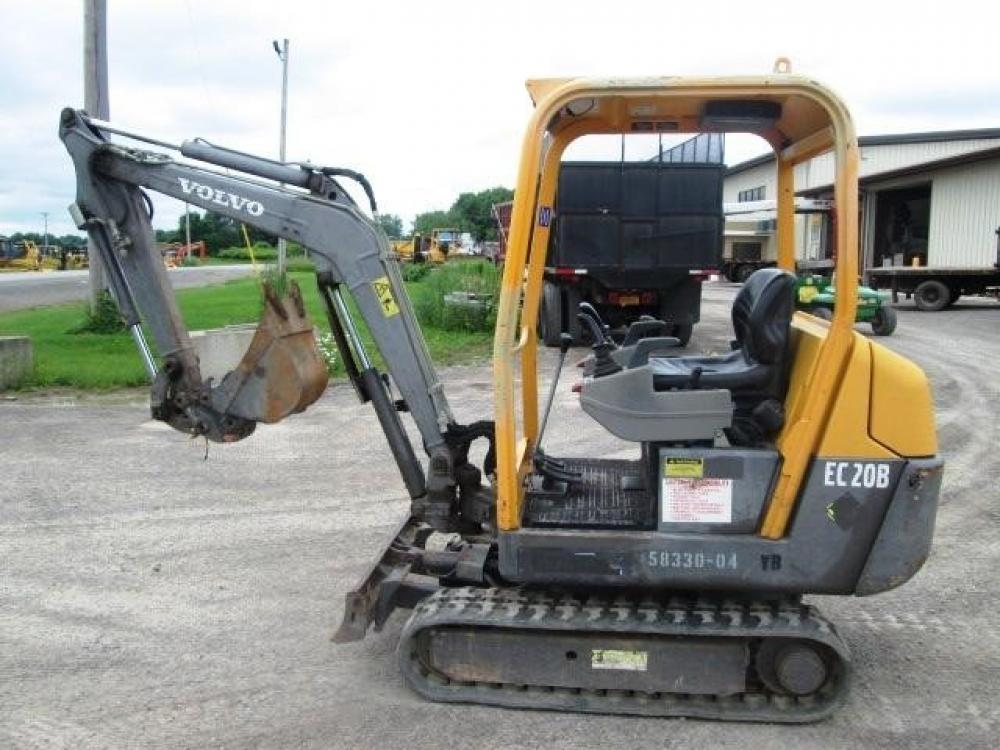 Detail photo of 2007 Volvo EC20B from Construction Equipment Guide