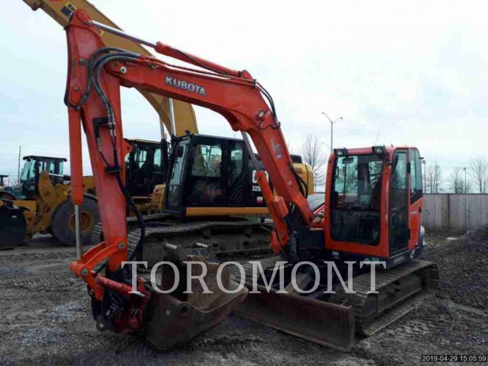 Detail photo of 2012 Kubota KX80-3 from Construction Equipment Guide