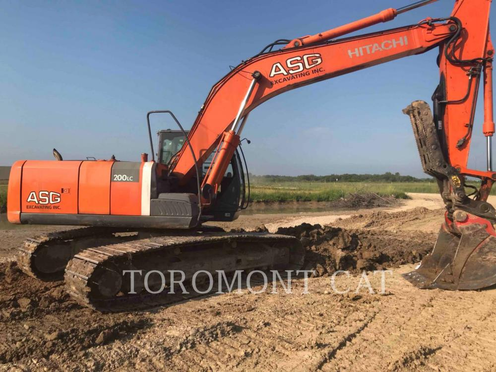 Detail photo of 2010 Hitachi ZX200LC-3 from Construction Equipment Guide
