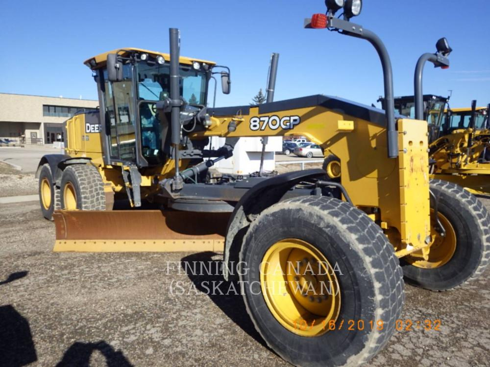 Detail photo of 2013 John Deere 870GP from Construction Equipment Guide
