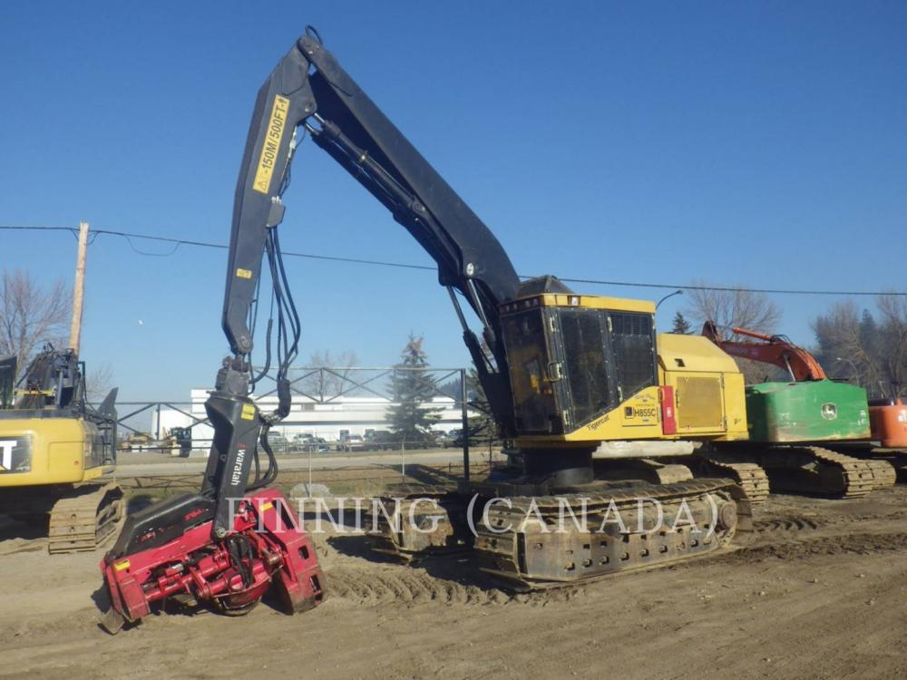 Detail photo of 2012 Tigercat H855C from Construction Equipment Guide