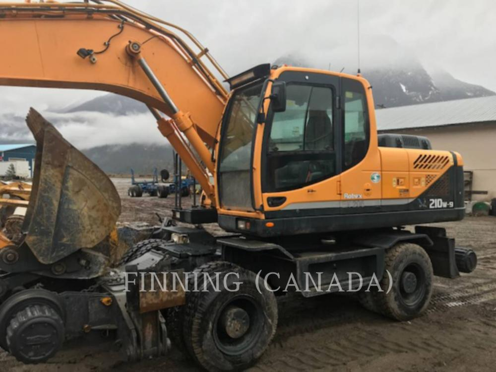 Detail photo of 2010 Hyundai ROBEX 210W-9 from Construction Equipment Guide