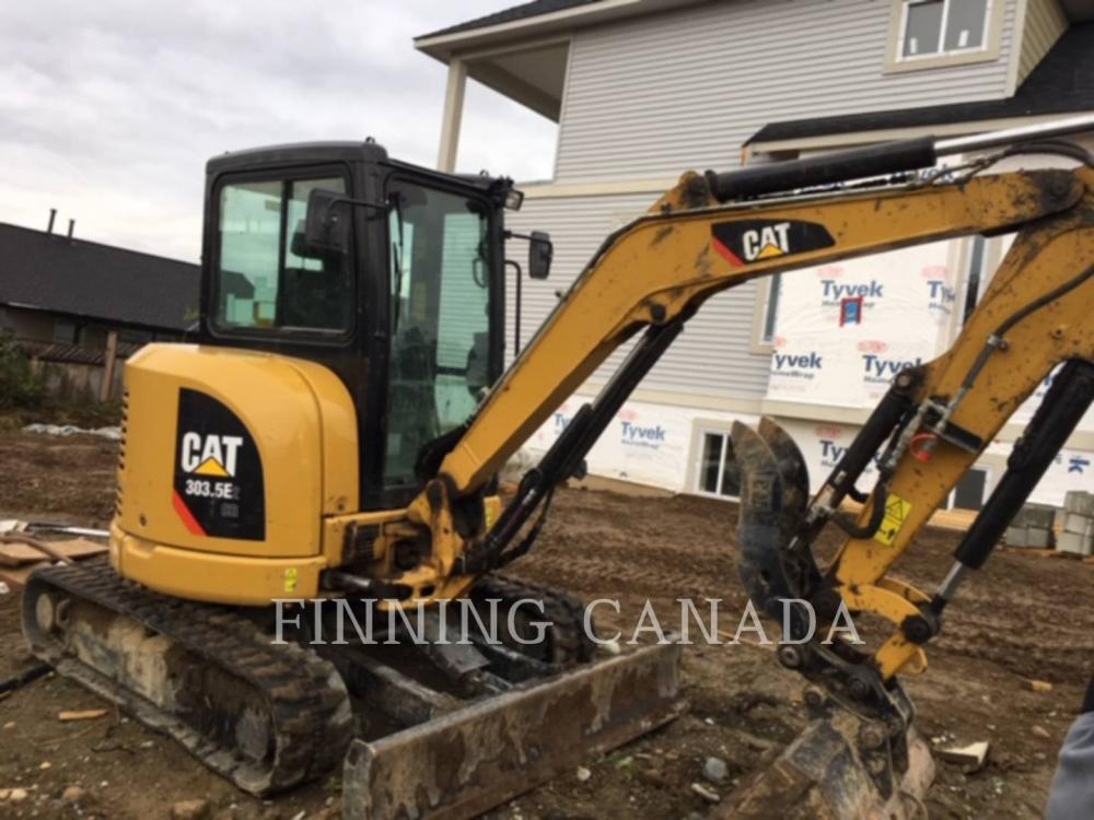 Detail photo of 2017 Caterpillar 303.5E2 CR from Construction Equipment Guide