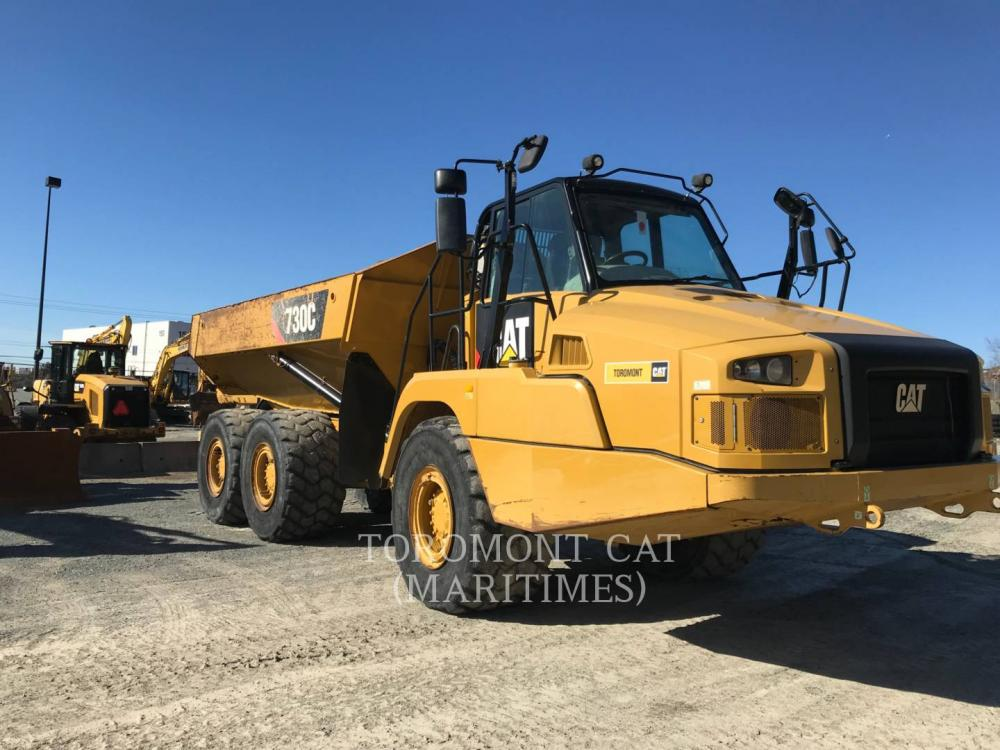 Detail photo of 2014 Caterpillar 730C from Construction Equipment Guide