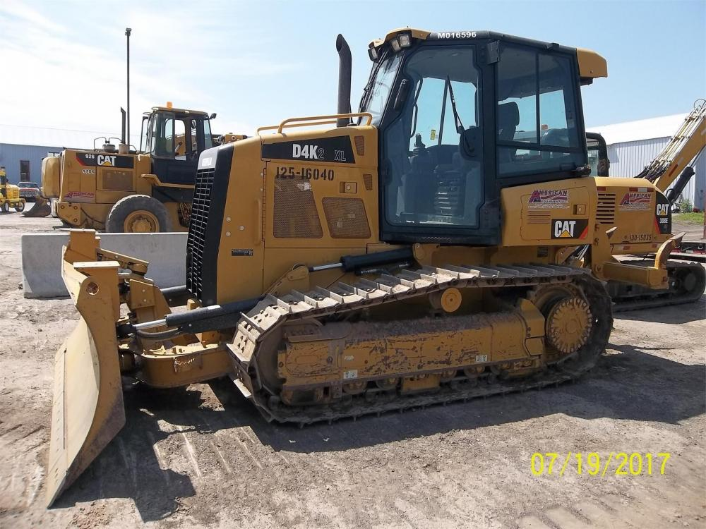 Detail photo of 2013 Caterpillar D4K XL II from Construction Equipment Guide