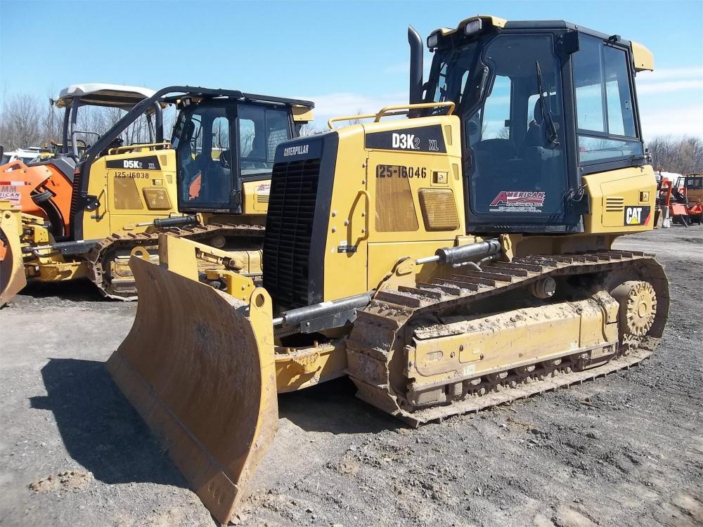 Detail photo of 2015 Caterpillar D3K II from Construction Equipment Guide