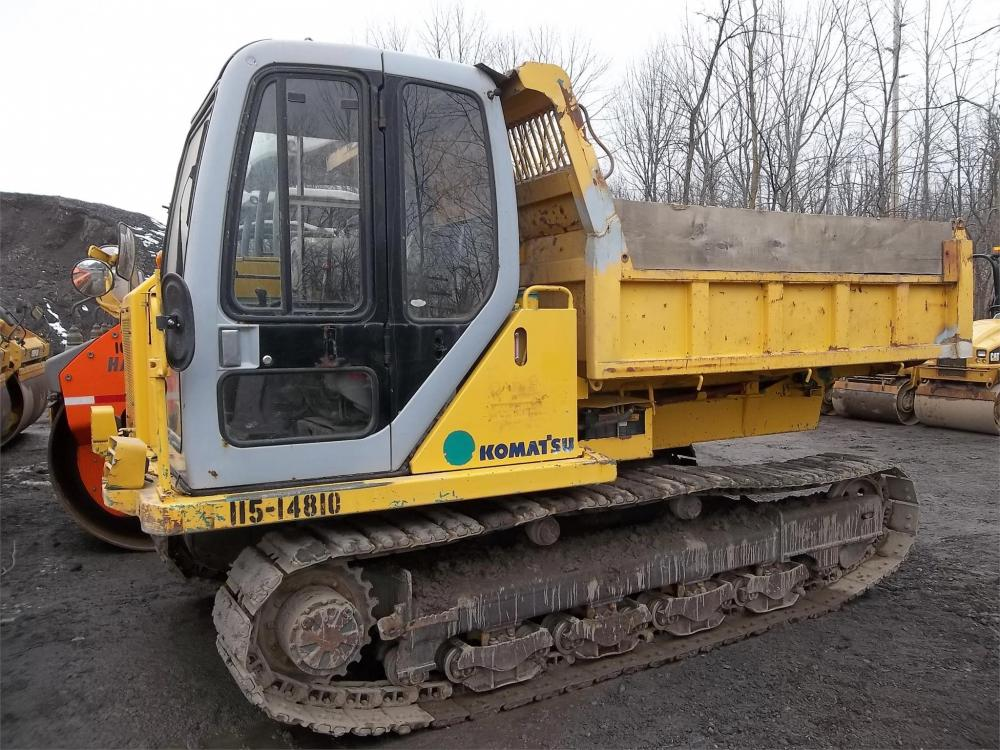 Detail photo of 2000 Komatsu CD60R-1E from Construction Equipment Guide