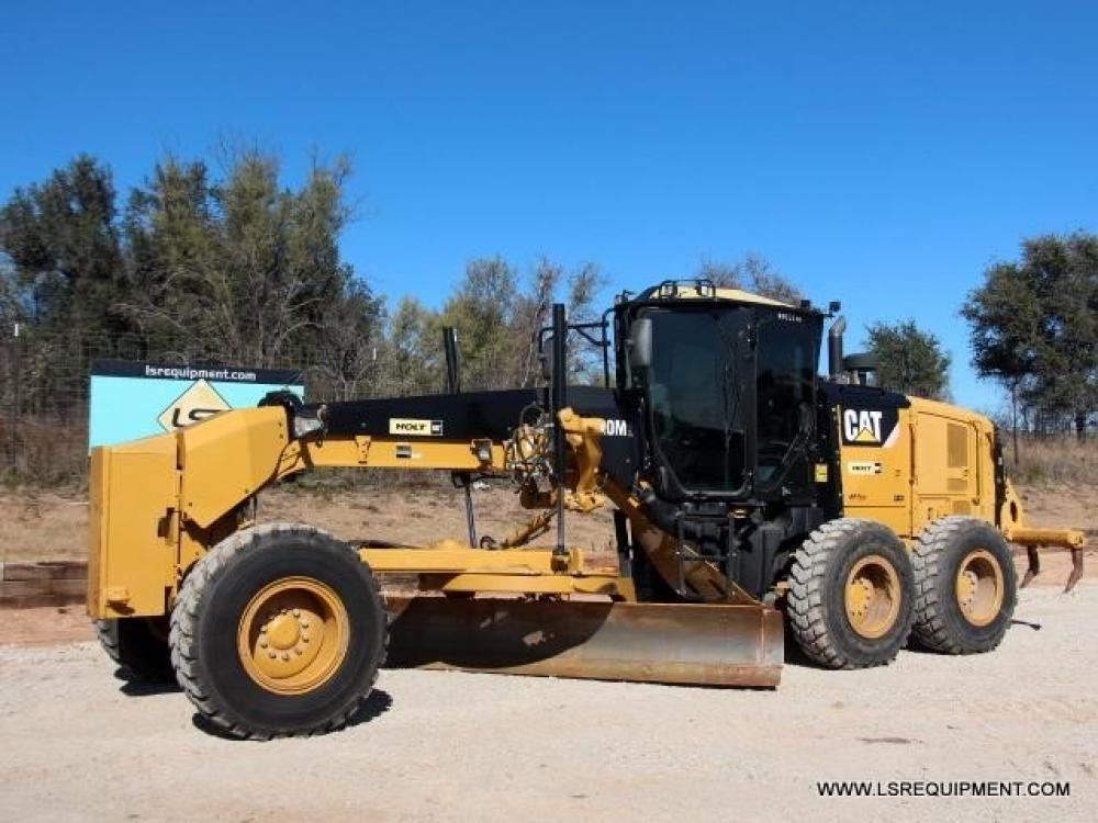 Detail photo of 2012 Caterpillar 120M from Construction Equipment Guide