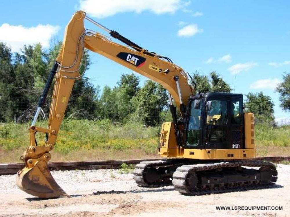 Detail photo of 2016 Caterpillar 315FL from Construction Equipment Guide