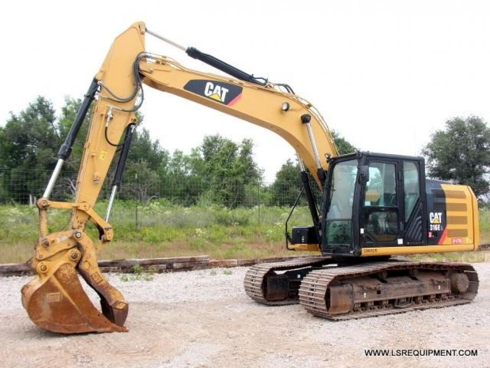 Detail photo of 2014 Caterpillar 316EL from Construction Equipment Guide
