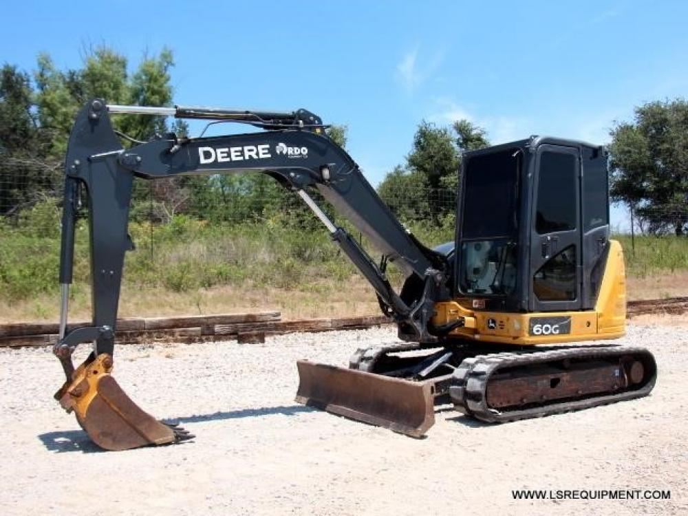 Detail photo of 2015 John Deere 60G from Construction Equipment Guide