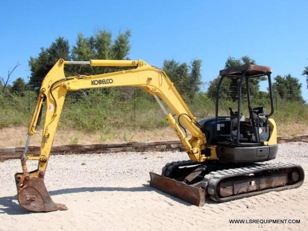 Detail photo of 2003 Kobelco SK45SR II from Construction Equipment Guide
