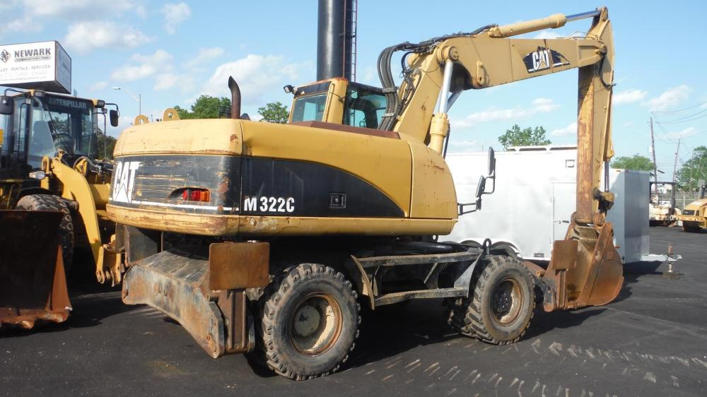 Detail photo of 2003 Caterpillar M322C from Construction Equipment Guide