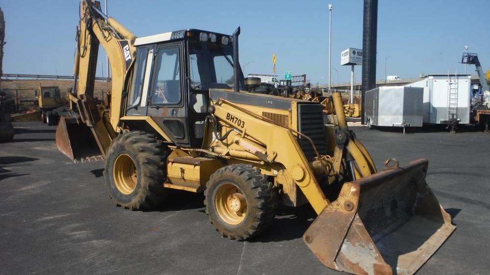 Detail photo of 1994 Caterpillar 446B from Construction Equipment Guide
