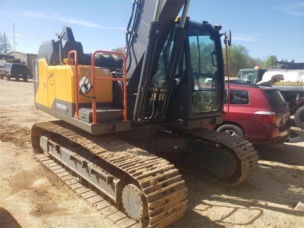 Detail photo of 2016 Volvo EC160EL from Construction Equipment Guide