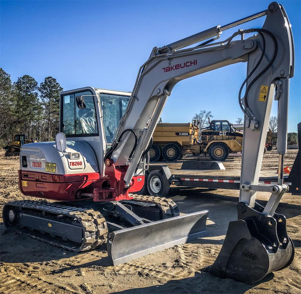Detail photo of 2019 Takeuchi TB260CR from Construction Equipment Guide