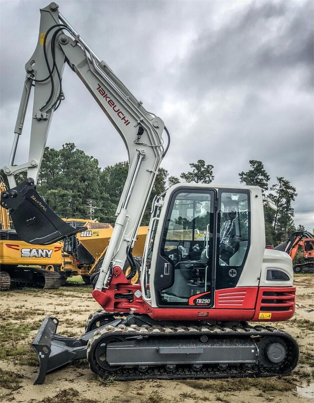 Detail photo of 2019 Takeuchi TB290C from Construction Equipment Guide