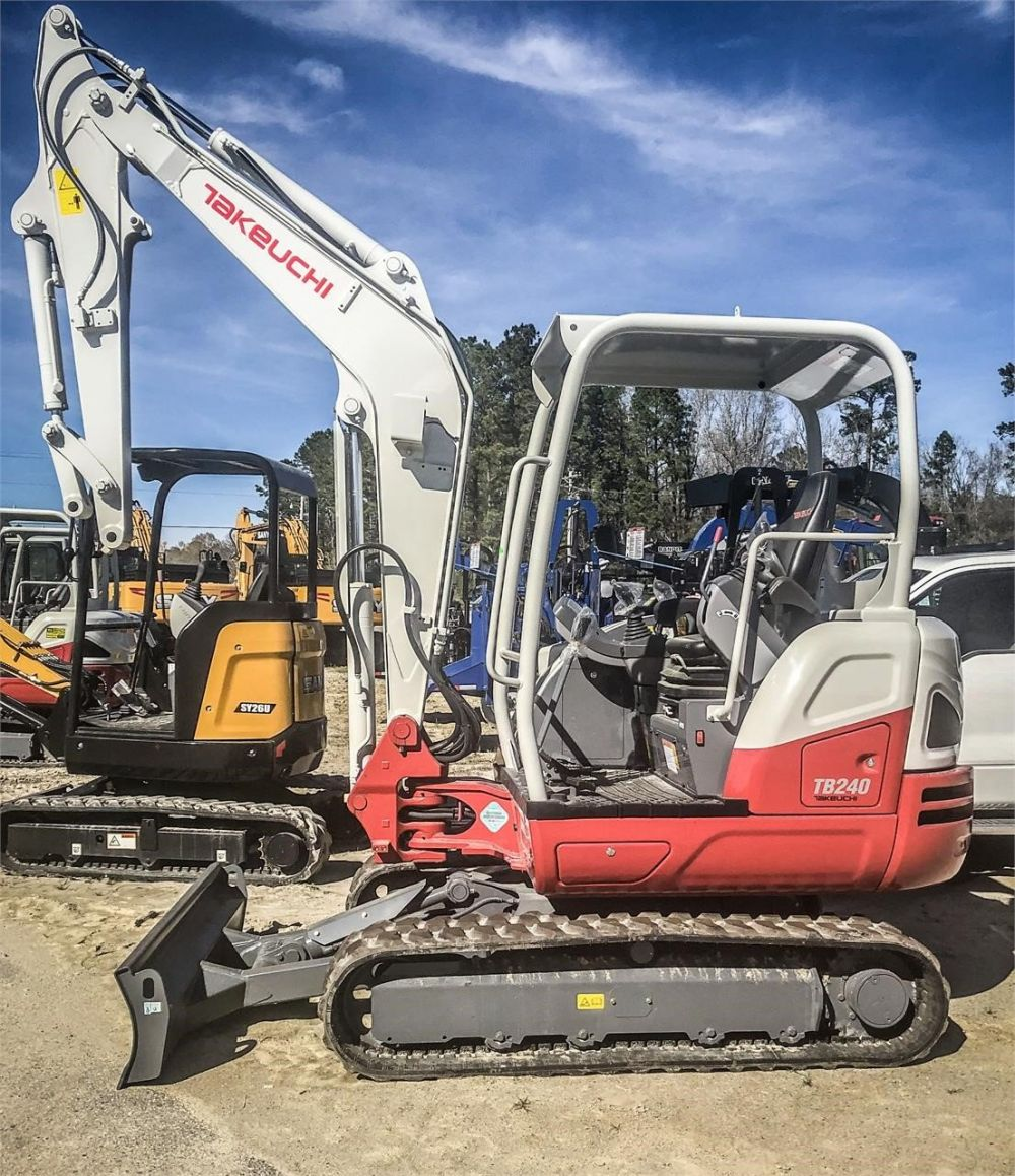 Detail photo of 2019 Takeuchi TB240 from Construction Equipment Guide