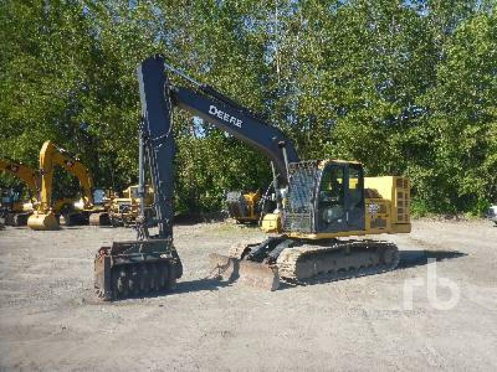 Detail photo of 2011 John Deere 120D from Construction Equipment Guide