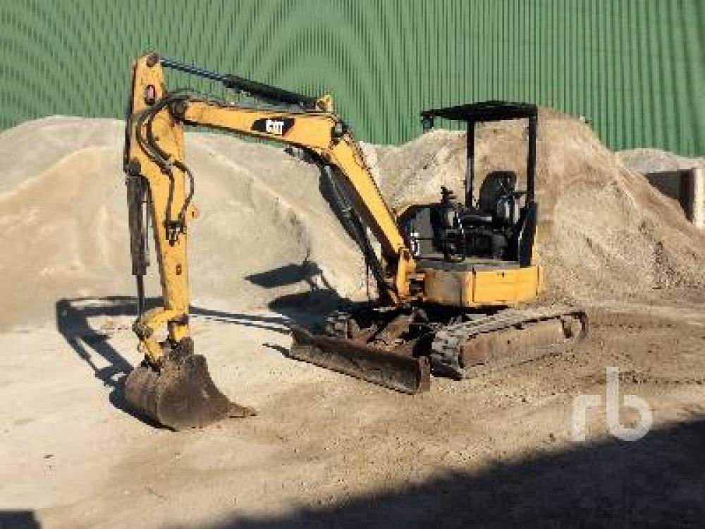 Detail photo of 2009 Caterpillar 303.5C CR from Construction Equipment Guide