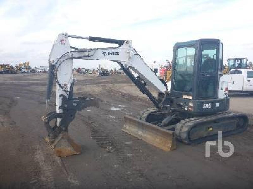 Detail photo of 2015 Bobcat E45 from Construction Equipment Guide