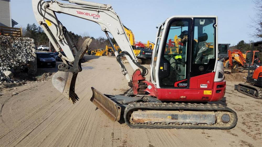 Detail photo of  Takeuchi TB260 from Construction Equipment Guide