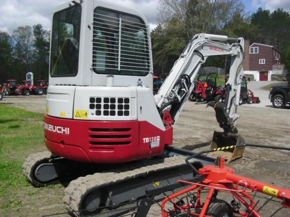 Detail photo of 2011 Takeuchi TB138FR from Construction Equipment Guide