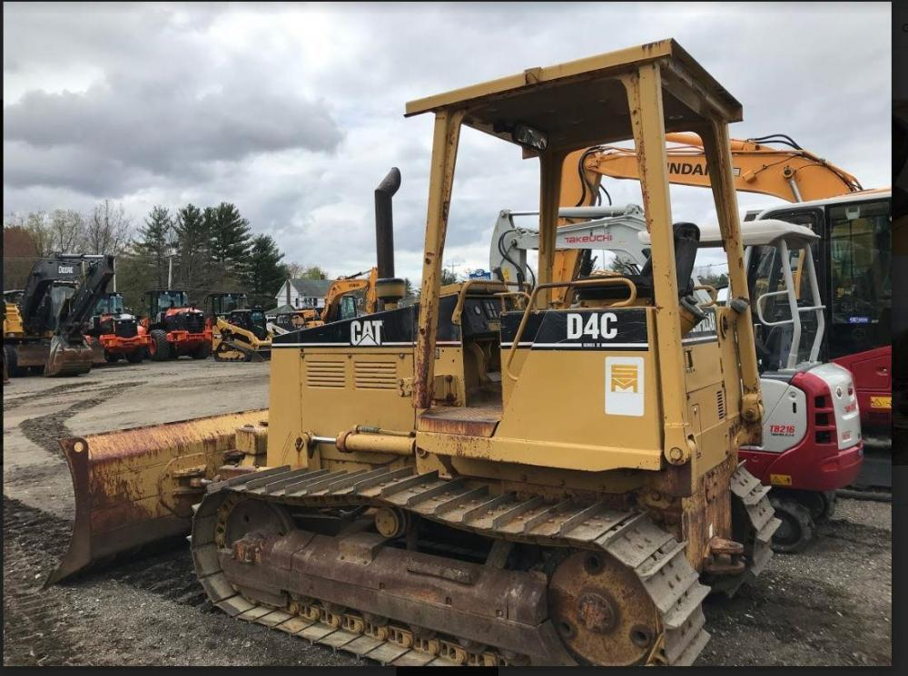 Detail photo of 1995 Caterpillar D4C III from Construction Equipment Guide