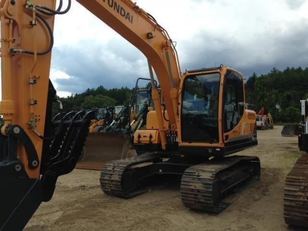 Detail photo of 2015 Hyundai ROBEX 140 LC-9A from Construction Equipment Guide