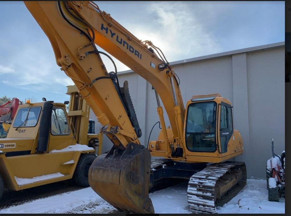 Detail photo of 2000 Hyundai ROBEX 160 LC-3 from Construction Equipment Guide