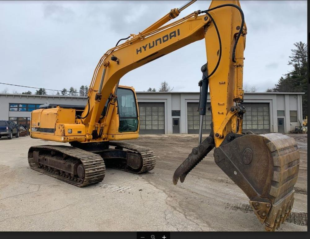 Detail photo of 2004 Hyundai ROBEX 160 LC-7 from Construction Equipment Guide