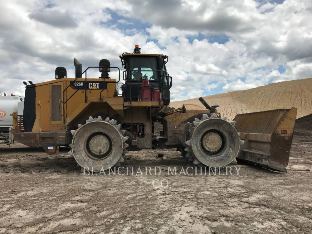 Detail photo of 2013 Caterpillar 826K from Construction Equipment Guide