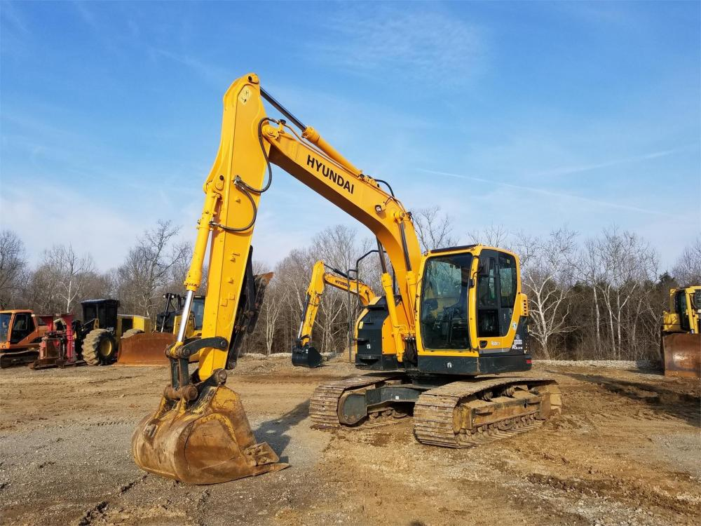 Detail photo of 2014 Hyundai ROBEX 145 LCR-9A from Construction Equipment Guide