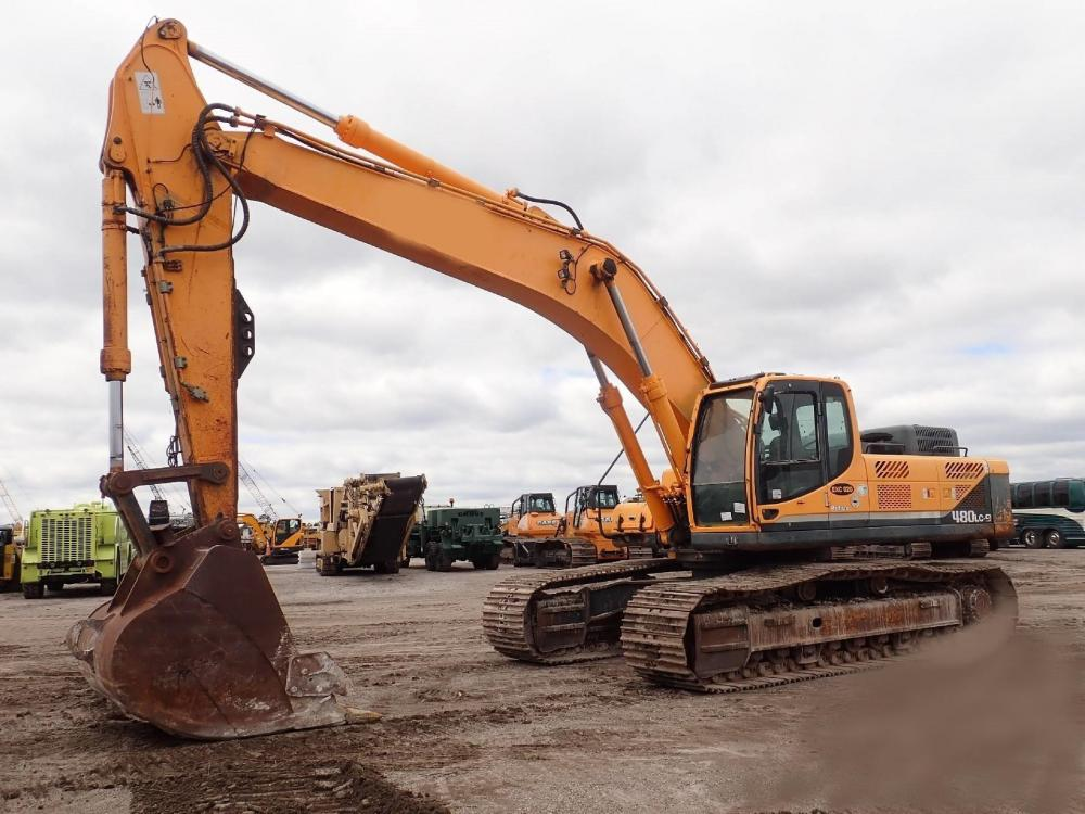 Detail photo of 2011 Hyundai ROBEX 480 LC-9 from Construction Equipment Guide