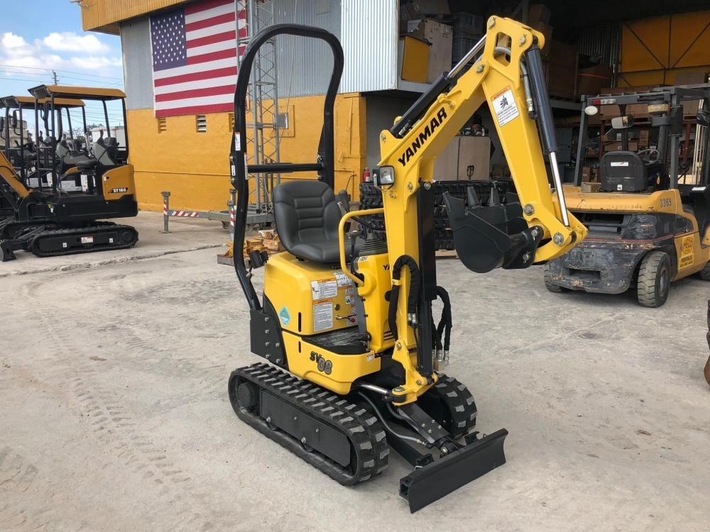 Detail photo of 2018 Yanmar SV08-1B from Construction Equipment Guide