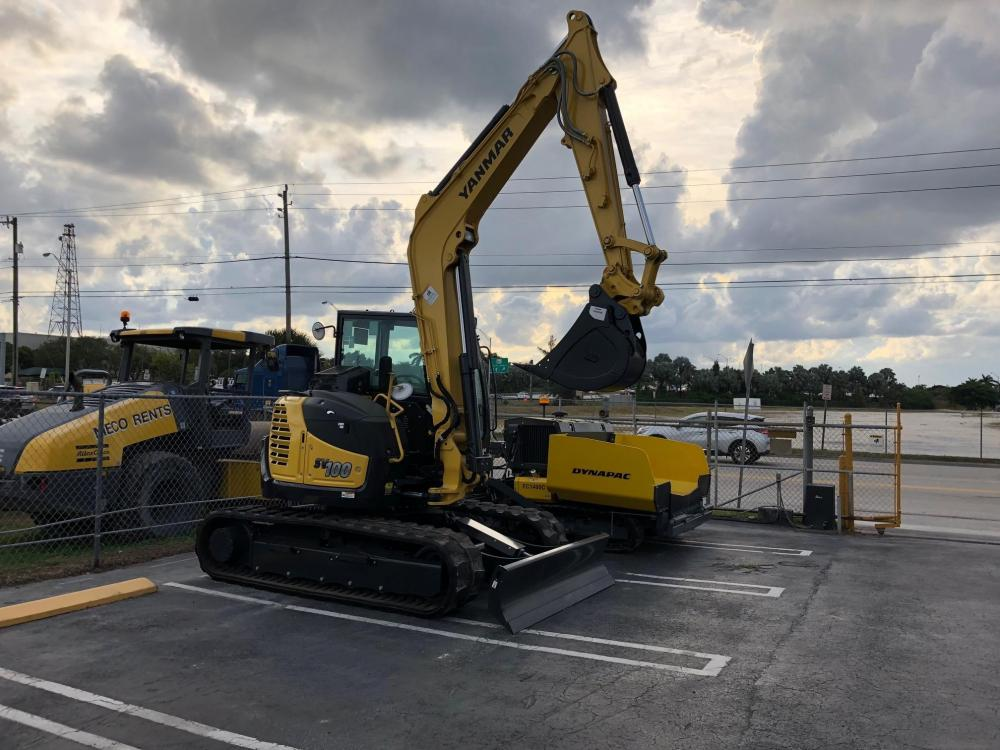 Detail photo of 2018 Yanmar SV100-2A from Construction Equipment Guide