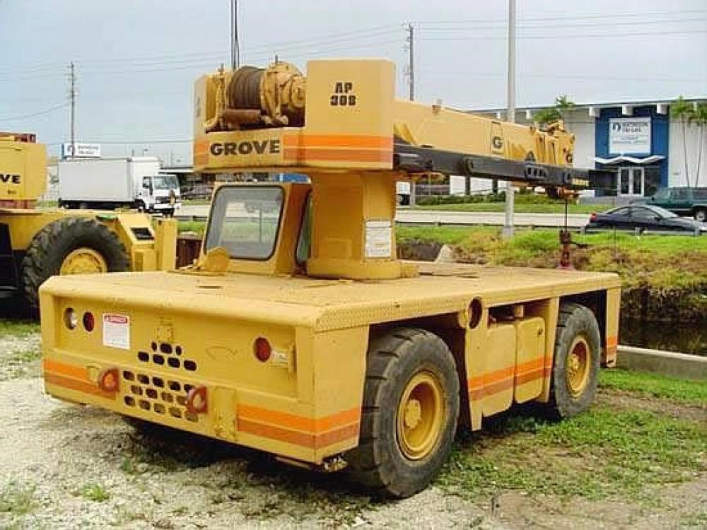 Detail photo of 1985 Grove AP308 from Construction Equipment Guide