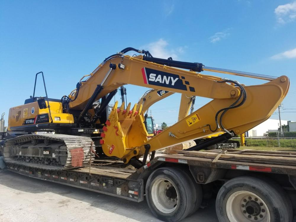 Detail photo of 2017 Sany SY215C from Construction Equipment Guide